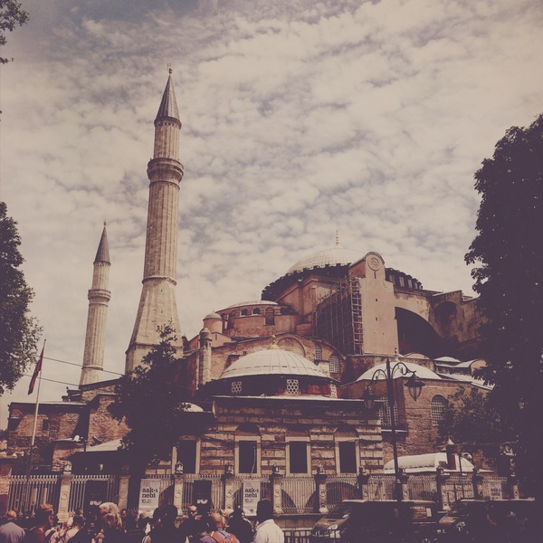 Three postcards from Istanbul